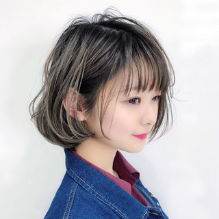 パーマ アンニュイほつれヘア ガーリー レイヤー ヘアスタイルや髪型の写真・画像