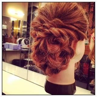 ゆるふわ ヘアアレンジ ナチュラル モテ髪 ヘアスタイルや髪型の写真・画像