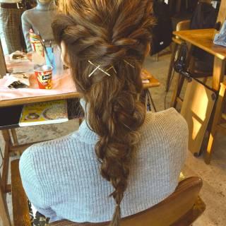 ゆるふわ フェミニン 結婚式 ヘアアレンジ ヘアスタイルや髪型の写真・画像