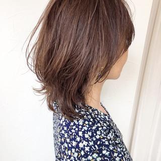 エレガント マッシュ 女子力 ミディアム ヘアスタイルや髪型の写真・画像