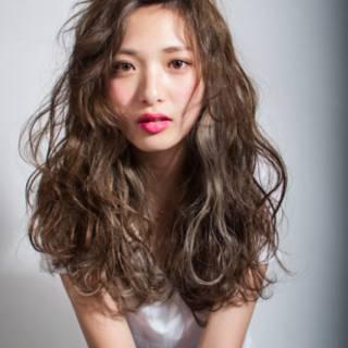 外国人風 ゆるふわ ストリート 渋谷系 ヘアスタイルや髪型の写真・画像