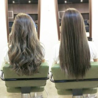 ロング 外国人風 グラデーションカラー 大人かわいい ヘアスタイルや髪型の写真・画像