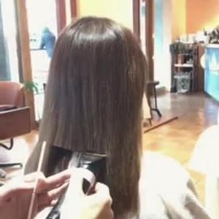 コンサバ 外ハネ こなれ感 ボブ ヘアスタイルや髪型の写真・画像