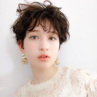 コスメ・メイク メイクテク ショート 春ヘア ヘアスタイルや髪型の写真・画像