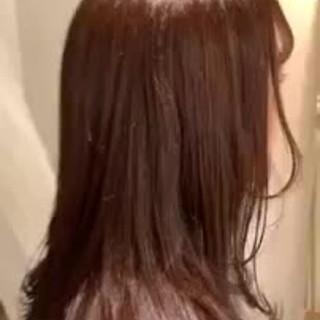 デート 大人かわいい ミディアム フェミニン ヘアスタイルや髪型の写真・画像