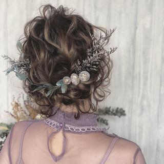 デート 成人式 結婚式 アンニュイほつれヘア ヘアスタイルや髪型の写真・画像