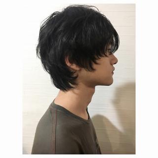 マッシュウルフ ショート ナチュラル ウルフカット ヘアスタイルや髪型の写真・画像