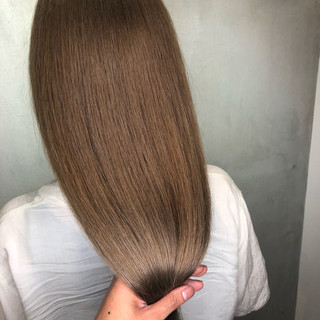 ロング 外国人風カラー アッシュ 外国人風 ヘアスタイルや髪型の写真・画像