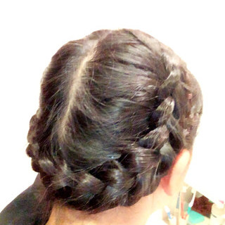 ヘアアレンジ ロング ヘアスタイルや髪型の写真・画像