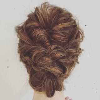セミロング 簡単ヘアアレンジ ショート ゆるふわ ヘアスタイルや髪型の写真・画像
