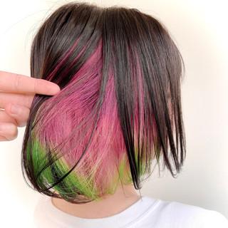 ショートボブ ミニボブ ボブ ストリート ヘアスタイルや髪型の写真・画像