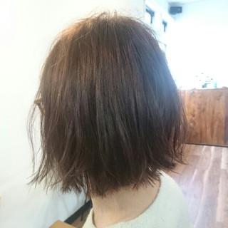 外国人風 ボブ 色気 艶髪 ヘアスタイルや髪型の写真・画像