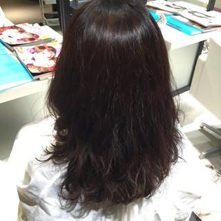 オフィス ロング ナチュラル 謝恩会 ヘアスタイルや髪型の写真・画像
