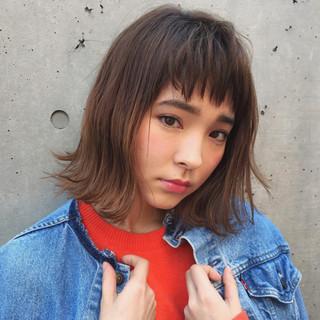 ストリート ハイライト 外国人風 前髪あり ヘアスタイルや髪型の写真・画像