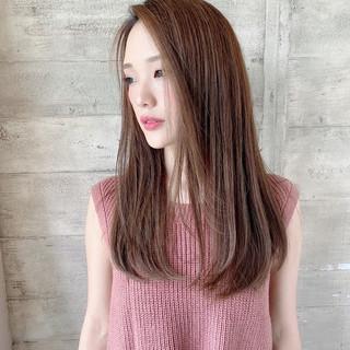 艶髪 セミロング サラサラ N.オイル ヘアスタイルや髪型の写真・画像