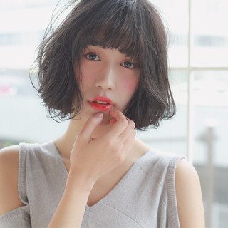 大人かわいい ナチュラル 暗髪 こなれ感 ヘアスタイルや髪型の写真・画像