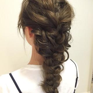 ショート ゆるふわ ロング 夏 ヘアスタイルや髪型の写真・画像