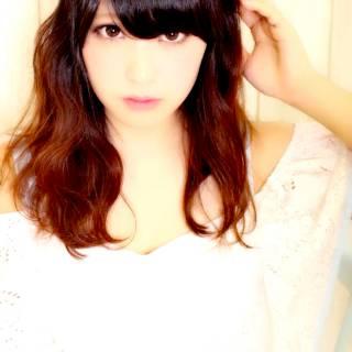 黒髪 モテ髪 コンサバ 愛され ヘアスタイルや髪型の写真・画像