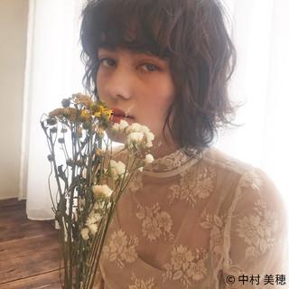 透明感 フェミニン 外国人風 ニュアンス ヘアスタイルや髪型の写真・画像