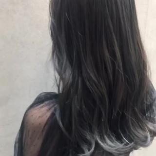 オフィス セミロング デート ナチュラル ヘアスタイルや髪型の写真・画像