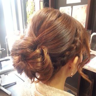 ミディアム ショート ヘアアレンジ 簡単ヘアアレンジ ヘアスタイルや髪型の写真・画像