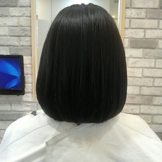 秋 トリートメント 前髪あり グレージュ ヘアスタイルや髪型の写真・画像