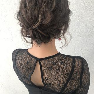 結婚式 スポーツ ヘアアレンジ ナチュラル ヘアスタイルや髪型の写真・画像