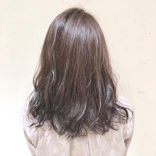 ナチュラル 外国人風カラー ミディアム グラデーションカラー ヘアスタイルや髪型の写真・画像