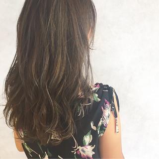ハイライト セミロング デート 大人かわいい ヘアスタイルや髪型の写真・画像