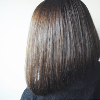 フェミニン ロブ かっこいい 大人女子 ヘアスタイルや髪型の写真・画像