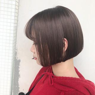ショート ボブ 色気 デート ヘアスタイルや髪型の写真・画像