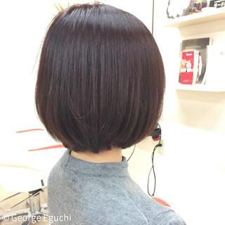 アッシュバイオレット ピンク グラデーションカラー 暗髪 ヘアスタイルや髪型の写真・画像