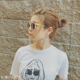 デート ヘアアレンジ ロング ナチュラル ヘアスタイルや髪型の写真・画像