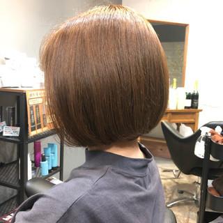 インナーカラー ショートヘア ミニボブ ボブ ヘアスタイルや髪型の写真・画像