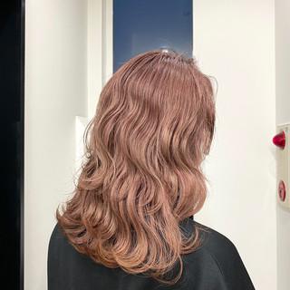 デート ロング モテ髪 ハイトーン ヘアスタイルや髪型の写真・画像