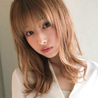 大人かわいい 大人ミディアム ミディアム アンニュイほつれヘア ヘアスタイルや髪型の写真・画像