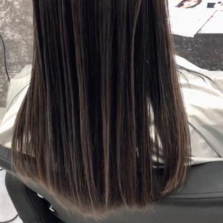 バレイヤージュ 成人式 デート ストリート ヘアスタイルや髪型の写真・画像
