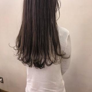 外国人風 大人かわいい 外ハネ ロング ヘアスタイルや髪型の写真・画像