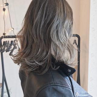 ハイライト ストリート グラデーションカラー 抜け感 ヘアスタイルや髪型の写真・画像