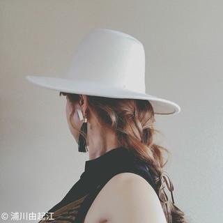 外国人風カラー デート ナチュラル ヘアアレンジ ヘアスタイルや髪型の写真・画像