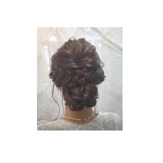 ハーフアップ 外国人風 ショート ロング ヘアスタイルや髪型の写真・画像