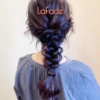 大人かわいい フェミニン ヘアアレンジ パーティ ヘアスタイルや髪型の写真・画像
