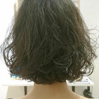 切りっぱなし 黒髪 ニュアンス ナチュラル ヘアスタイルや髪型の写真・画像