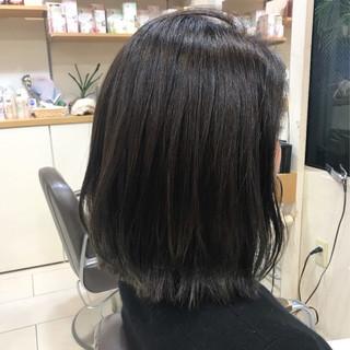 外ハネ 艶髪 ウェットヘア モード ヘアスタイルや髪型の写真・画像