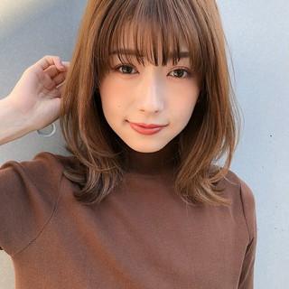 デジタルパーマ ショートレイヤー ミディアムレイヤー レイヤースタイル ヘアスタイルや髪型の写真・画像