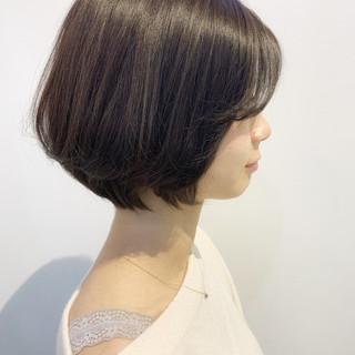 ボブ 大人女子 ショートボブ 艶髪 ヘアスタイルや髪型の写真・画像