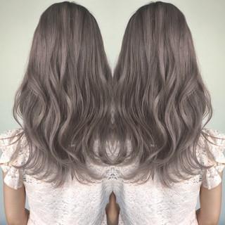 透明感 フェミニン セミロング 外国人風 ヘアスタイルや髪型の写真・画像