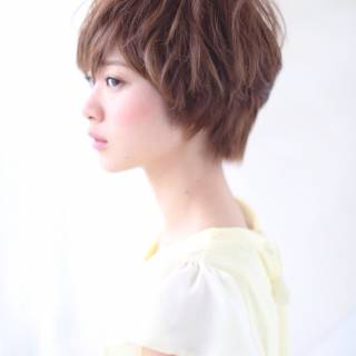 フェミニン 愛され 春 ゆるふわ ヘアスタイルや髪型の写真・画像