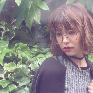 ハイライト パーマ ゆるふわ 外国人風 ヘアスタイルや髪型の写真・画像