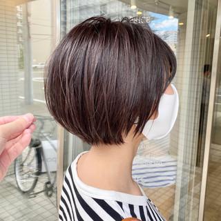 アンニュイ ショート 大人ショート ショートヘア ヘアスタイルや髪型の写真・画像
